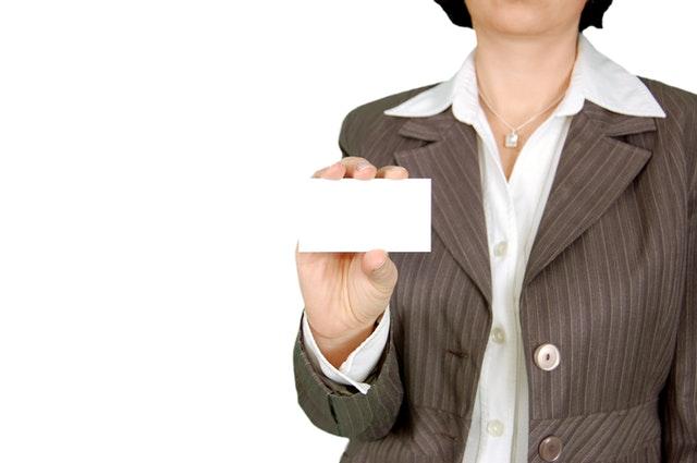 jak zrobić wizytówkę