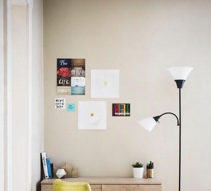 plakaty, biurko